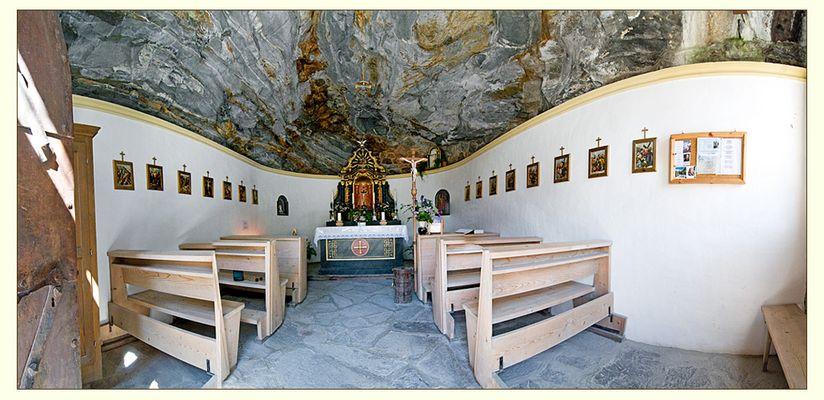 Felsenkapelle im Osttiroler Innergschlöss