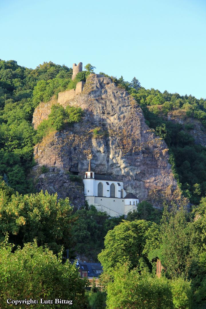Felsenkirche und Burg Bosselstein
