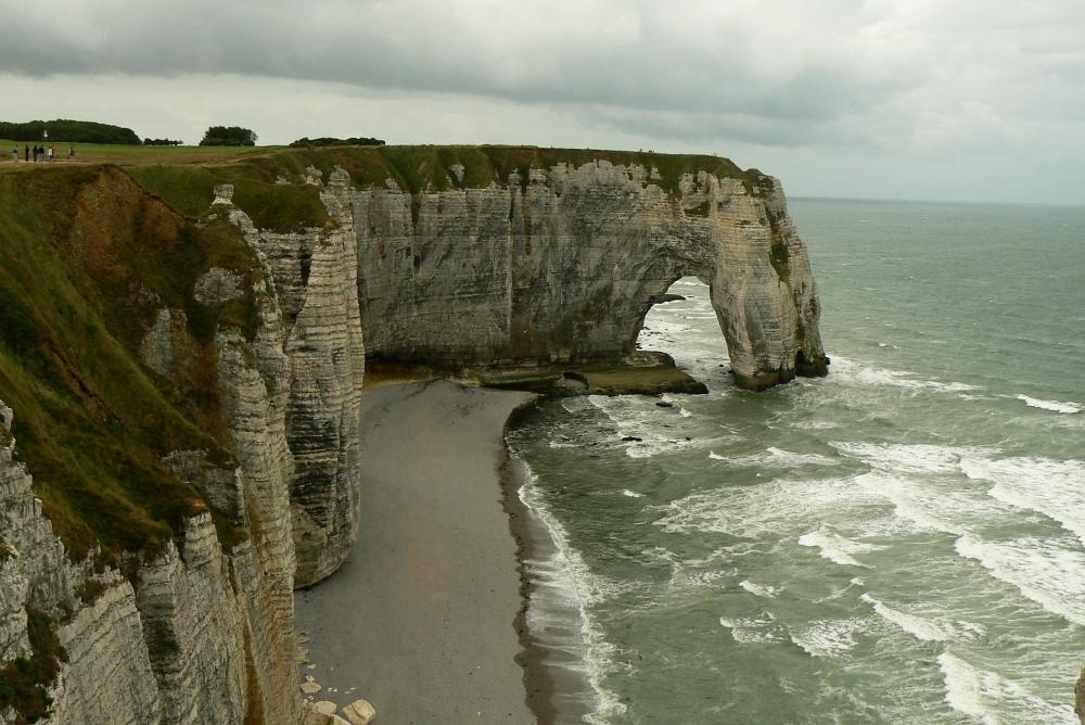 Felsenküste bei Etretat...