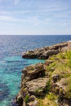 Felsenlandschaft am Mittelmeer auf Mallorca