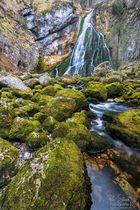 Felsenmeer am Gollinger Wasserfall