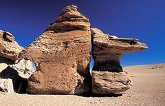Felsformation im bolivianischen Altiplano