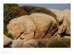 Felsformationen auf Sardinien