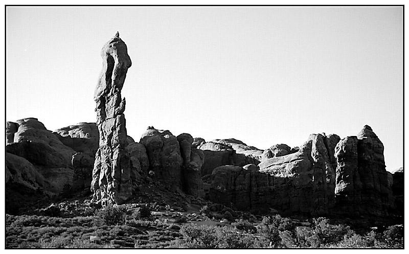 Felsformationen im Arches National Park - Utah, USA