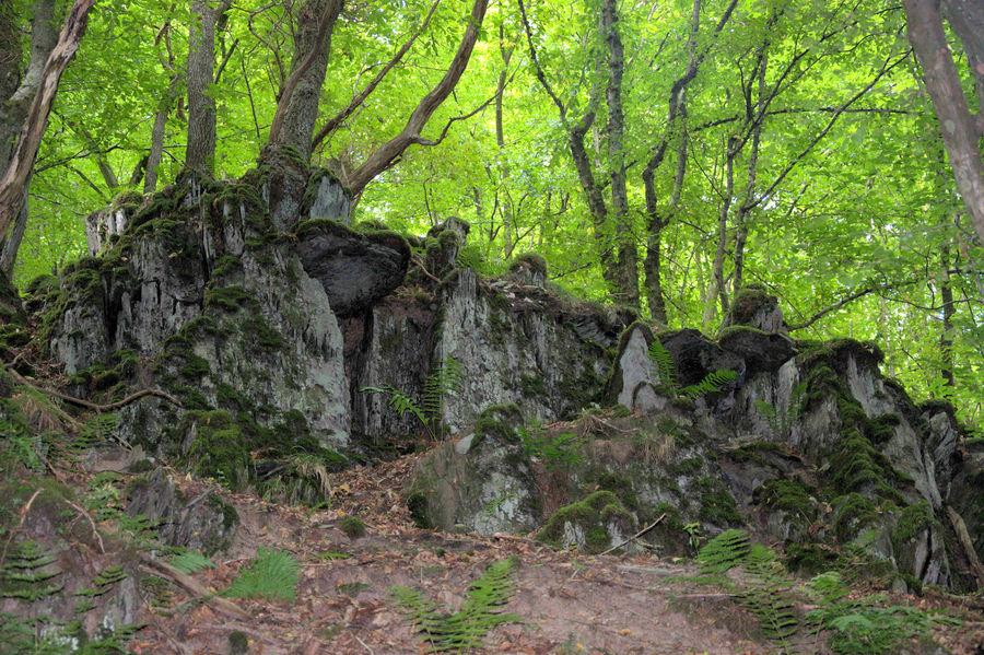 Felsformationen im Tal der wilden Endert