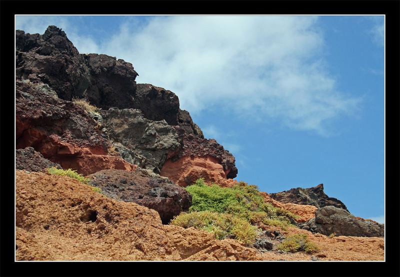 Felsgestein auf Madeira