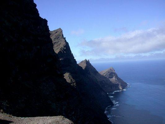 Felsküste auf Gran Canaria