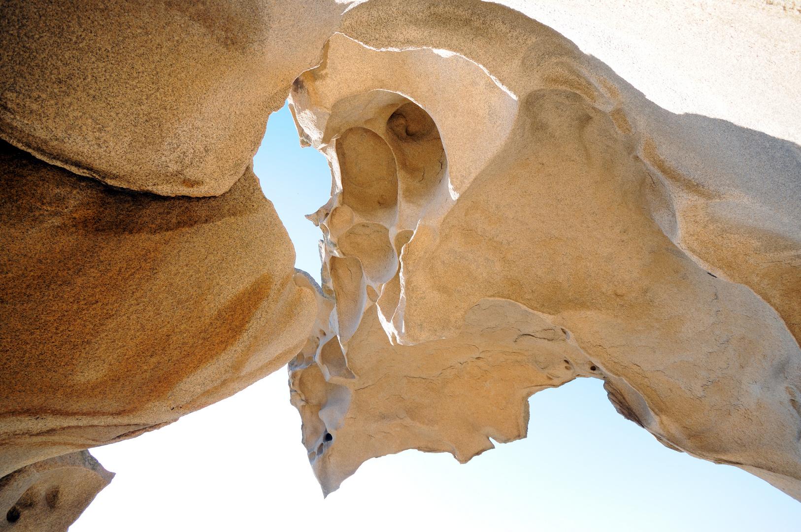 Felsskulptur am Bärenkap