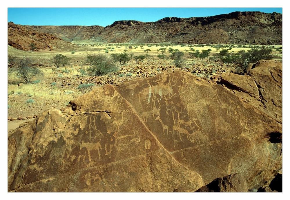 Felszeichnungen von Twyfelfontein