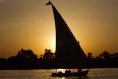 Felukka auf dem Nil
