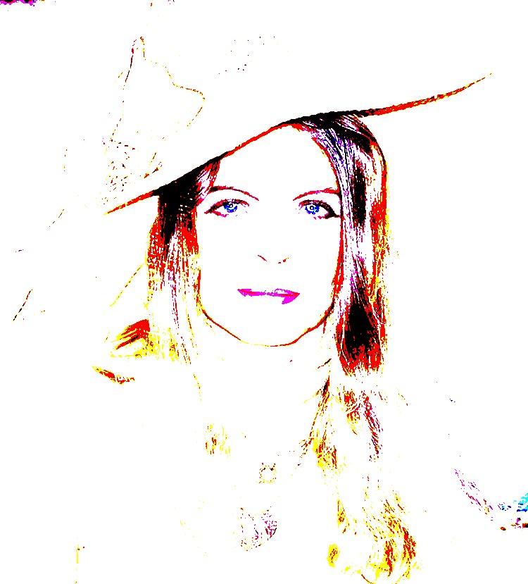 femme au chapeau de paille
