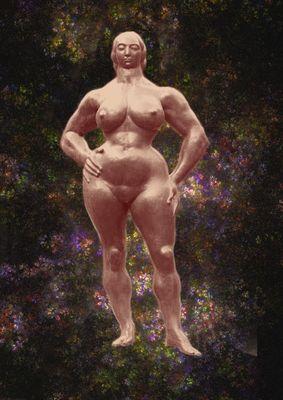 Femme debout de Gaston Lachaise