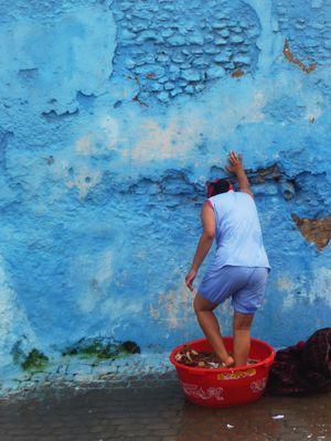 femme marocaine a Oualidia