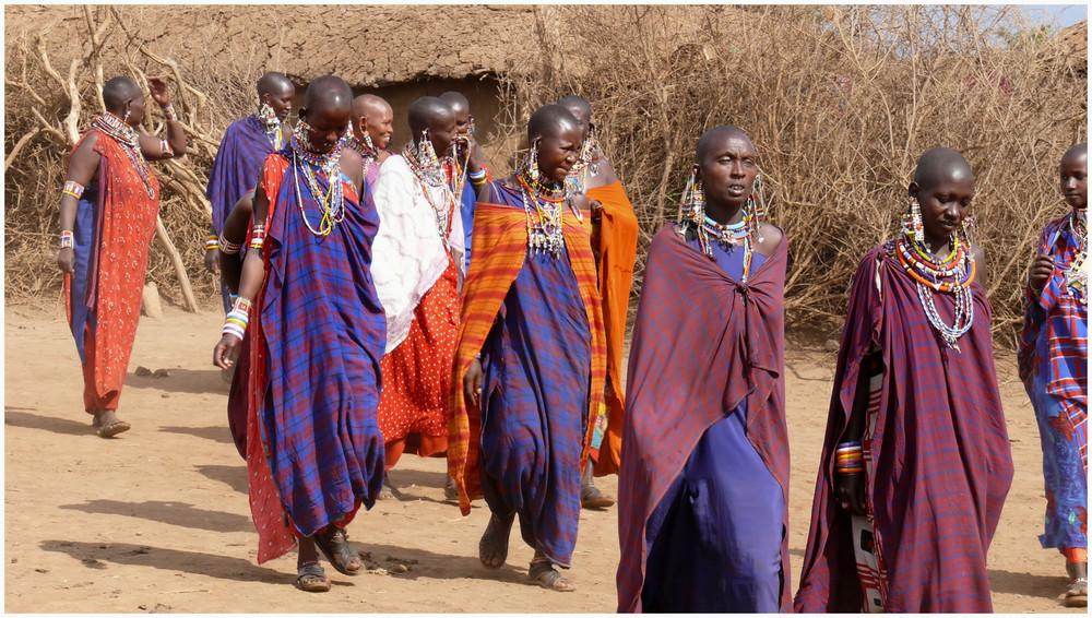 Femme Masai