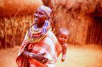 Femme massaï ( Kenya )