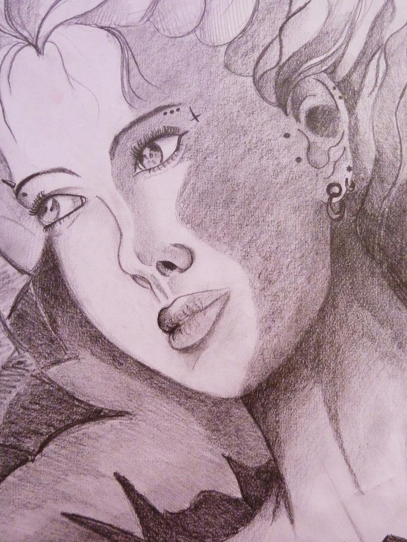 Femme reveuse 2010
