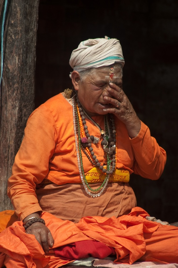 Femme sacrée Katmandou