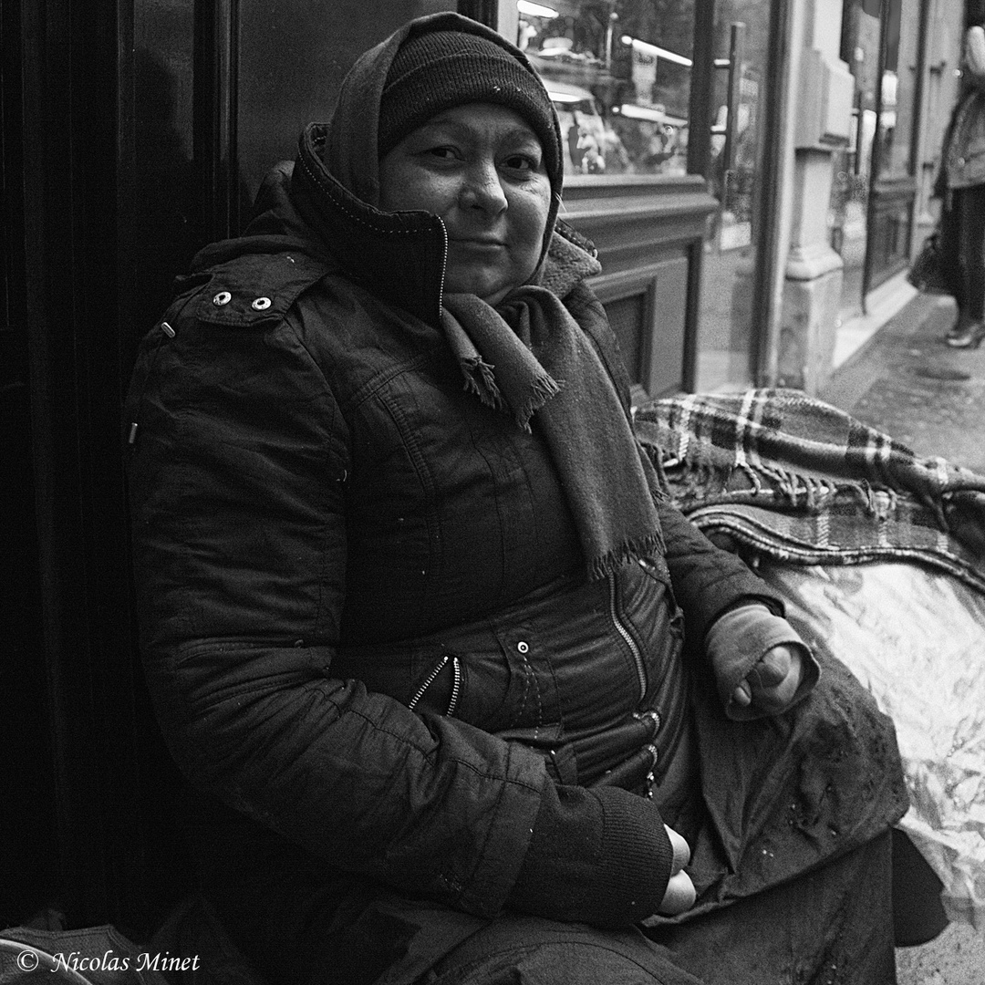 Femme SDF