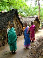 Femmes dans un village du sud de l'Inde