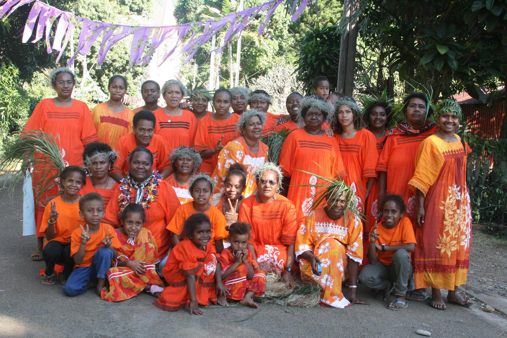 Femmes mélanésiennes