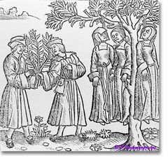 Femmes pendues Moyen-Âge