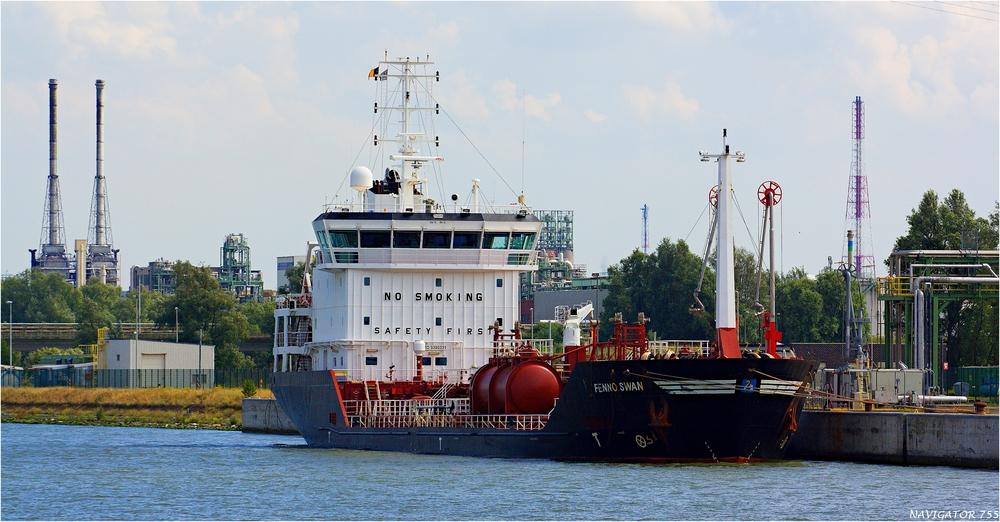 FENNO SWAN / Tanker / Antwerpen