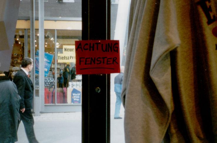 Fenster!!