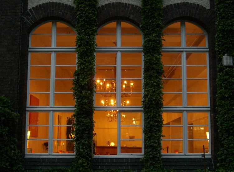 Fenster bei Nacht