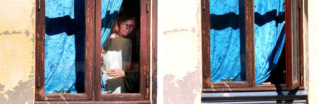 Fenster - Blick ...