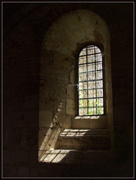 Fenster der Abtei San Galgano