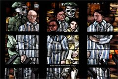 Fenster der Christoffelkathedraal in Roermond