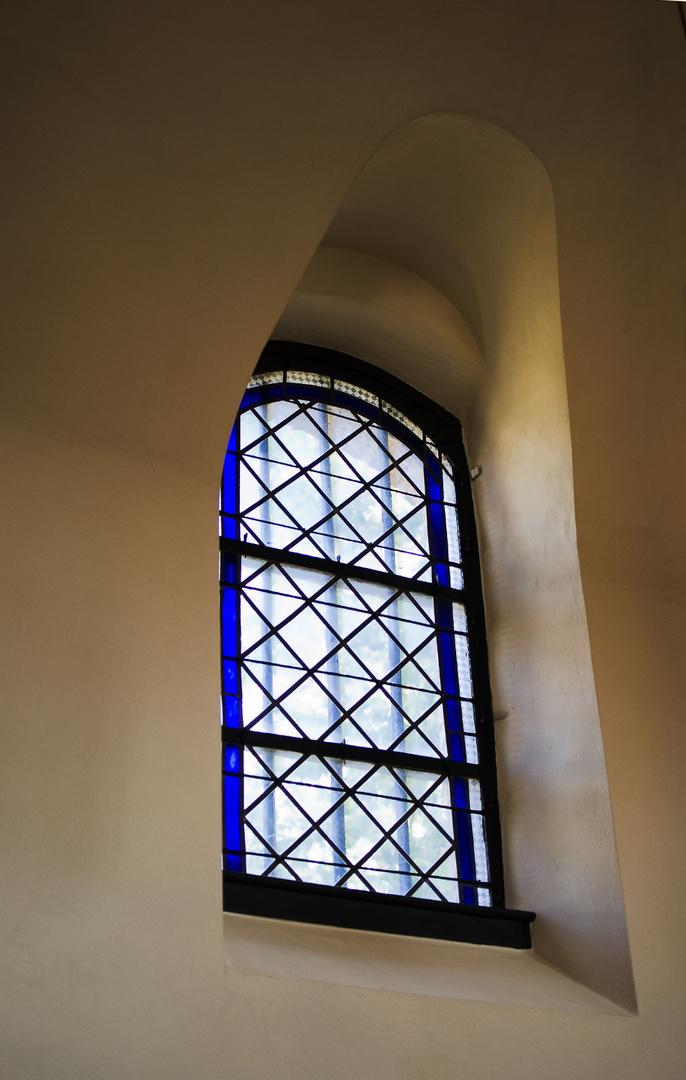 Fenster der kapelle St. Martin Kirchsahr