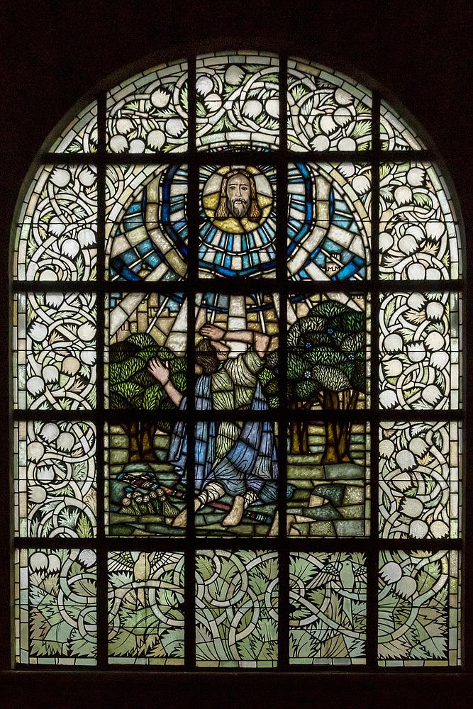 Fenster der Pauluskirche 01