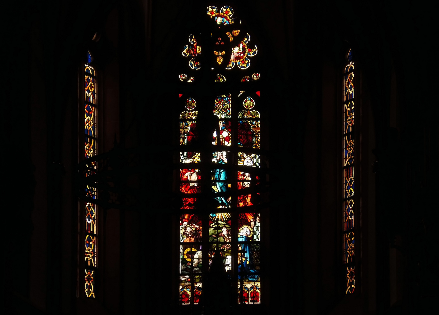 Fenster der St. Rochus-Kapelle .....