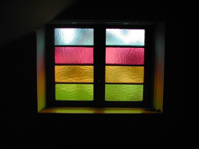 Fenster farbig