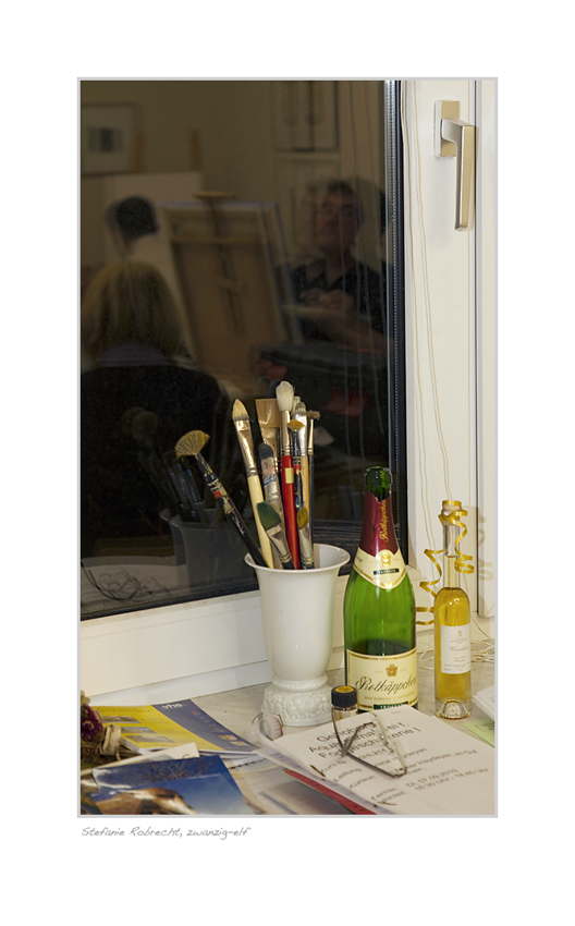 Fenster im Atelier