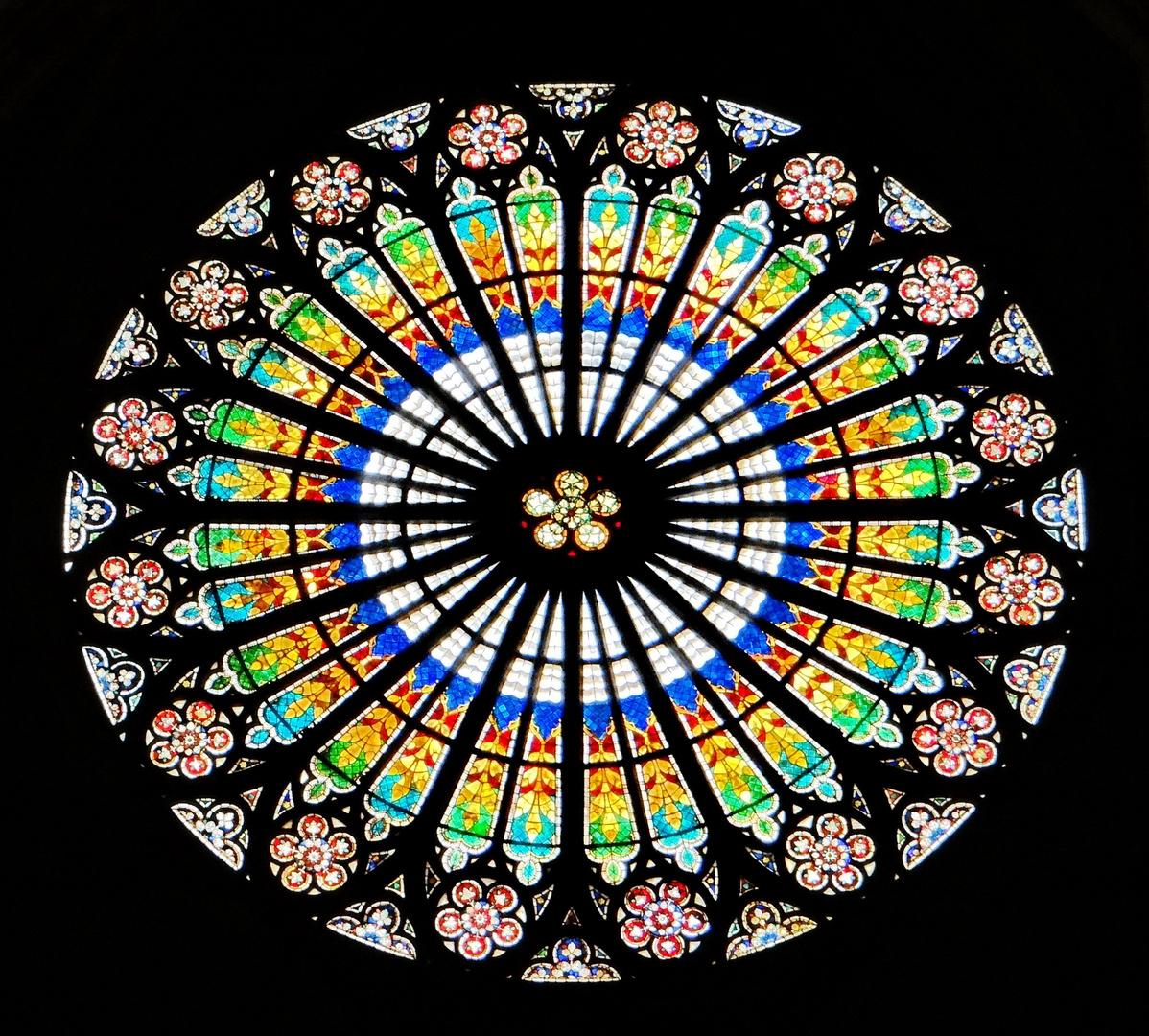 Fenster im Dom zu Strasbourg