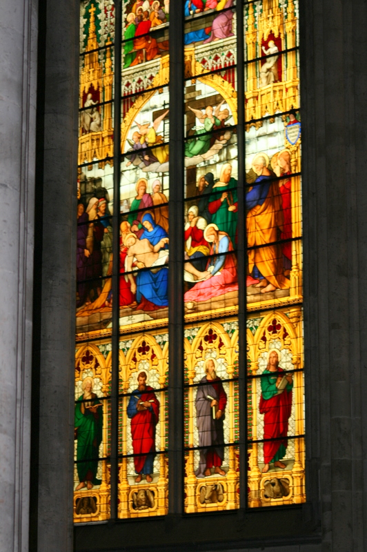 Fenster im Kölner Dom,