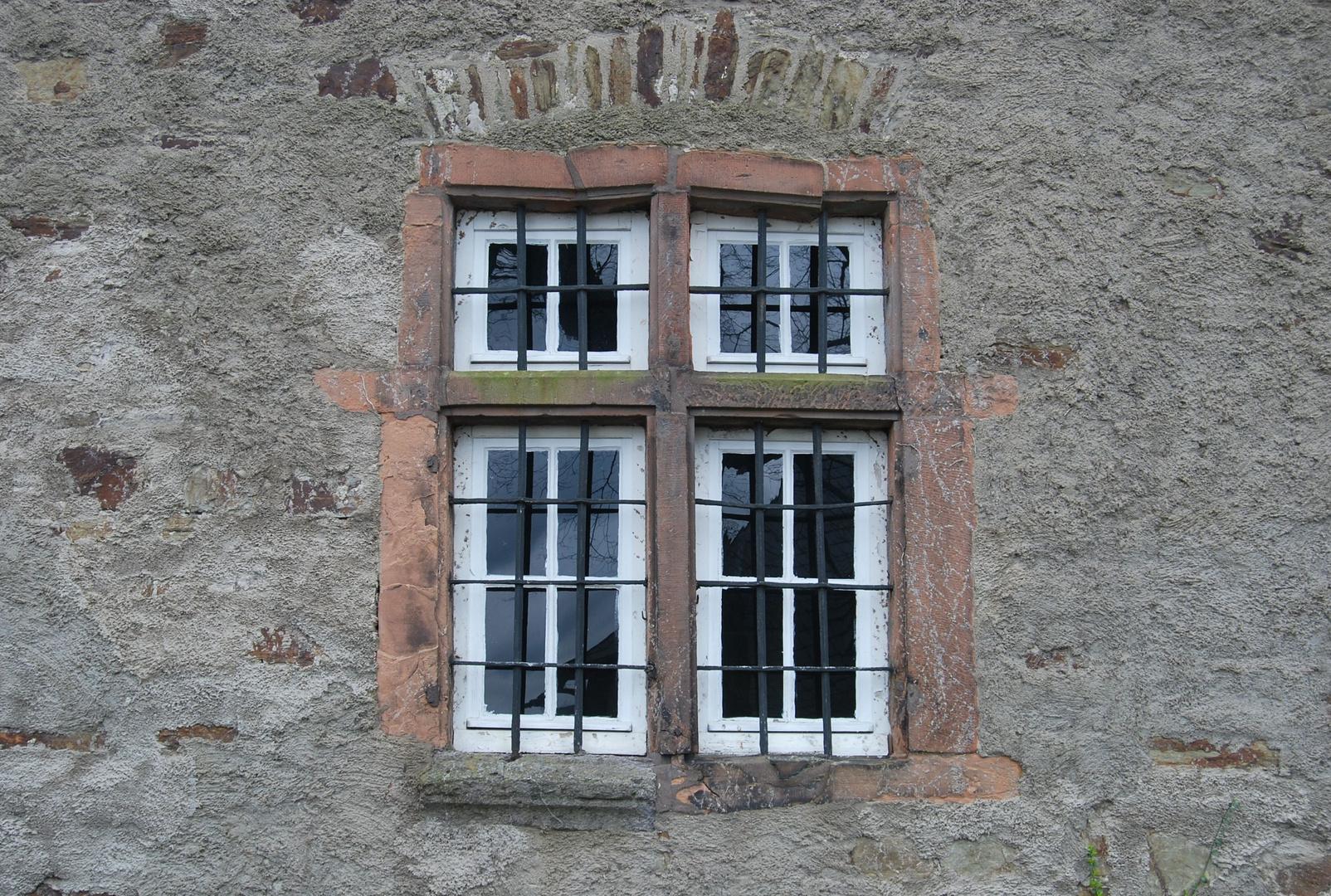 Fenster im Oberen Schloss