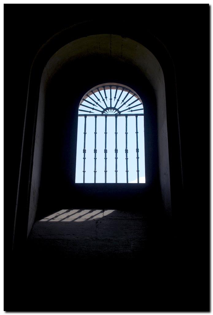 Fenster im Parador von León
