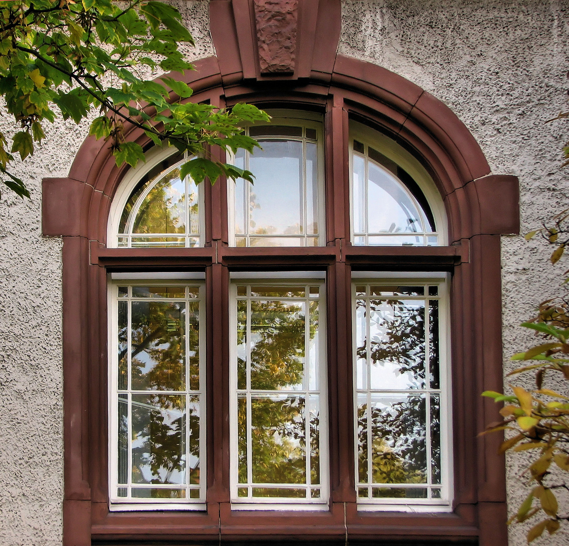 Fenster im Rathaus