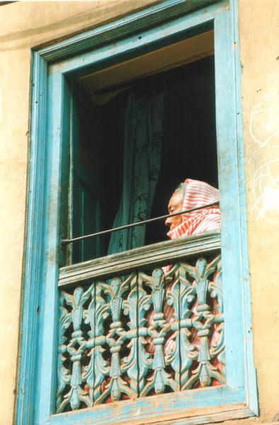 Fenster in Bhaktapur