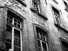 Fenster in der Altstadt von Avignon