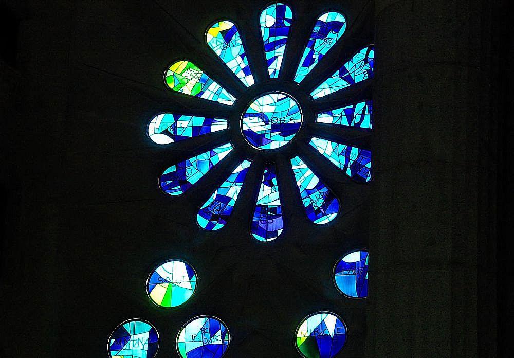 Fenster in der Familia Sagrada.....