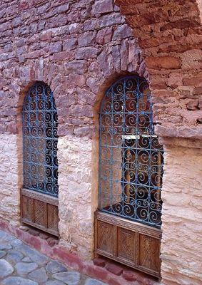 Fenster in der neuen Medina (Altstadt) von Agadir (von Rita)