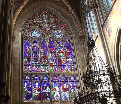Fenster in der Votivkirche Wien