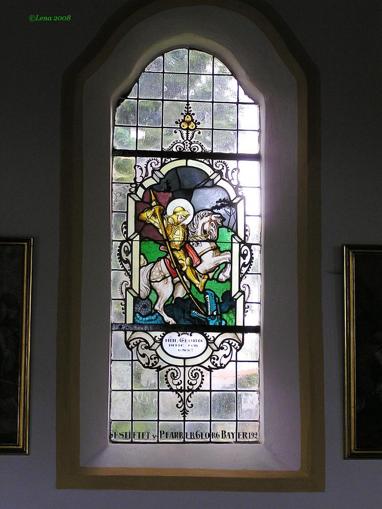 Fenster in Friedhofskirche