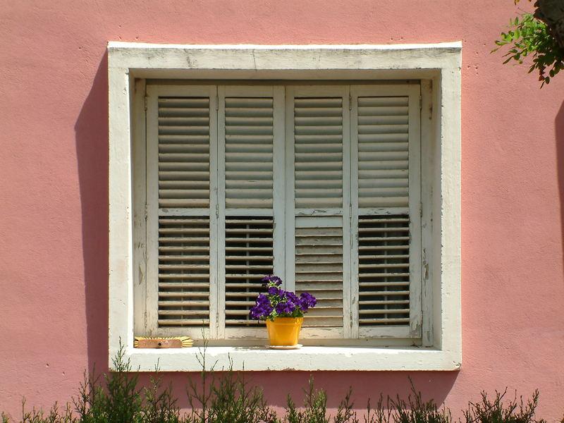 Fenster in Port de Soller