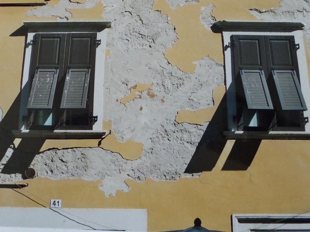 Fenster in Trient