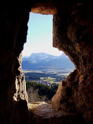 Fenster ins Voralpenland
